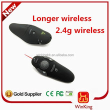 Laser pointer with remote control 2.4 GHz wireless