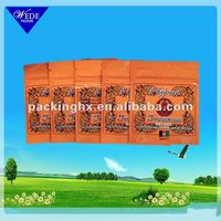 Resealable mylar ziplock bags