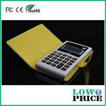 2015 New style 3usb power bank 6000mah with the function of calculator