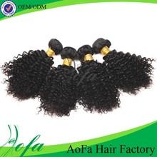 100% human hair virgin true glory brazilian curly hair