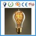 2015 nueva 2 Watt Dimmable led filamento de tungsteno de la lámpara E27 clara medio tubo directamente fuente de la fábrica de CE / ROHS