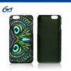 3D cell phone cover mobile phone accessory for iphone 6 pc case rubber
