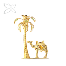 2015 Newest Resplendent Gold Plated Crystals Luxury Home Decor