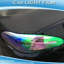Color Change Chameleon Car Headlight Tint Film