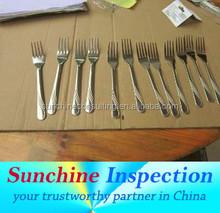 Shenzhen qualitätsprüfung service/besteck qualitätsprüfung service/dritten teil inspektion Unternehmen