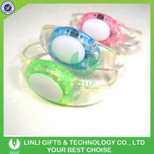Best Selling TPU Plastic Cheap Bracelet With LED For Promotional Gifts, Colorful Light Up Cheap Bracelet For Brand Promotion