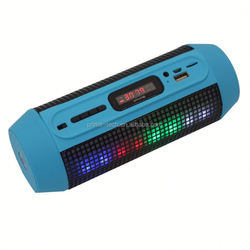 2015 color portable outdoor mini led bluetooth speaker,active bluetooth wireless speaker with led light
