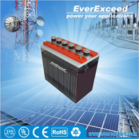 Rechargeable 2V 150ah flooded external storage battery