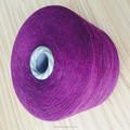 fios de algodão tingidos para luvas