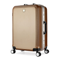 Wholesale ABS luggage Color Customized 20'22'24' Trolley Design