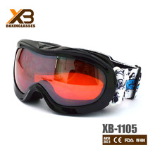 2015 adjustable straps wintersport goggles