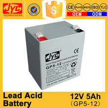 High technology sealed maintenance free lead acid 12v paper battery
