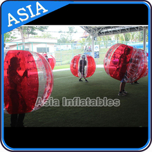 1.2/1.5/1.8 m Dia soccer bubble football/ TPU/PVC soccer in bubble suits sale directly from factory