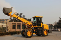 ZL20F 2ton small mini micro telescopic boom wheel loader with EURO3 engine