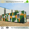 Energy Efficiency Affordable Prefabricated Recyclable 40Ft Prefab Folding Container Homes For Sale