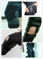 2015 Adjustable plastic knee brace support for therapy knee pain
