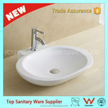 best quality oval toilet wash basin sink
