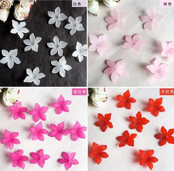 Acrylique Fleur Perles Résultats de Bijoux