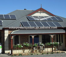 green energy/durable/high efficiency 10KW solar energy generator system for home high power solar systems