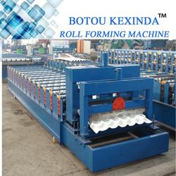 roofing tile manufacturing machines glazed machine profile machine