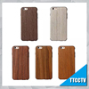 Cell phone accessory Wood grain soft TPU case for iphone 6 wood case