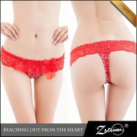 Good Quality Sexy Underwear Ladies Cute Lace G String Models
