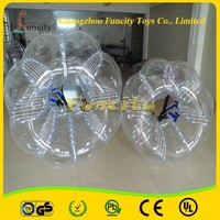 PVCTPU 1.0mm tickness colorful 1.5M bubble soccer ball suits/inflatable body zorbing bumper ball