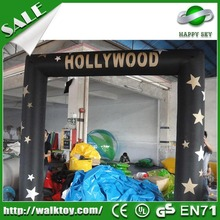Lovely air arch for commerce,inflatable animal arch,alloween decoration inflatable arch