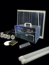 fm radio power bank emergency light folding solar modules