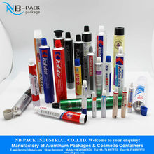 Color 50ml Aluminum Collapsible Tube For Cosmetic Man Travel Set