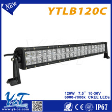 YTLB120C Good thermal performance 21.5inch amber switch convertion led offroad light bar