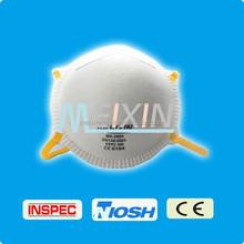 EN149 FFP2 FFP3 disposable active carbon and valved respirator