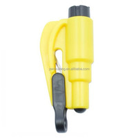 Keychain Car Emergency Rescue Tool Window Glass Breaker Seat Belt Cutter Car Safety Car Knife Tool Glass Breaker Life Hammer