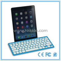 new product ultra slim colorful russian bluetooth keyboard for ipad mini 3 in russian market