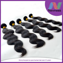 Newness Manufacturer supply 5a cheap 100% human hair in india