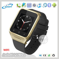 2014 New 3G Android4.4 OS WIFI GPS Smart Watch Mobile Phone