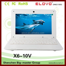 ram 1GB Android netbook computer 10inch hdd disk slots established factory notebook wifi ether network cheap quality netbook