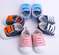 Hot Selling Comfortable Baby Boy Cotton Fabric Shoes Baby Kids Walking Shoes