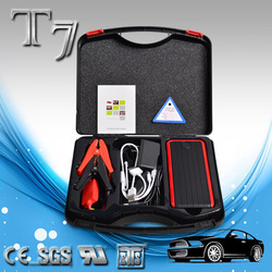 Fashionable,Light weight,Good cycle life,Unique design,Easy to carry around,12000mAh capacity battery charger car jump starter