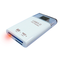Wholesale price mini usb 3.0 card reader driver/usb flash drive
