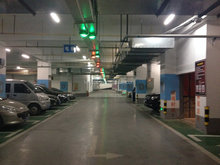 parking guidance system with big parking areas