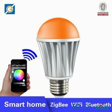 WiFi air freshener negative ion activate oxygen led bulb 5w pure white play by SmartPhone