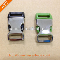 half metal half plastic buckle for dog/cat pet collar, Luggage accessories