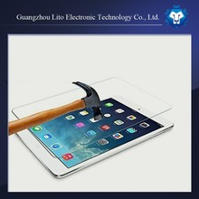 Newest ! ultra thin bubble free high clear premium tempered glass screen protector for IPad air 2