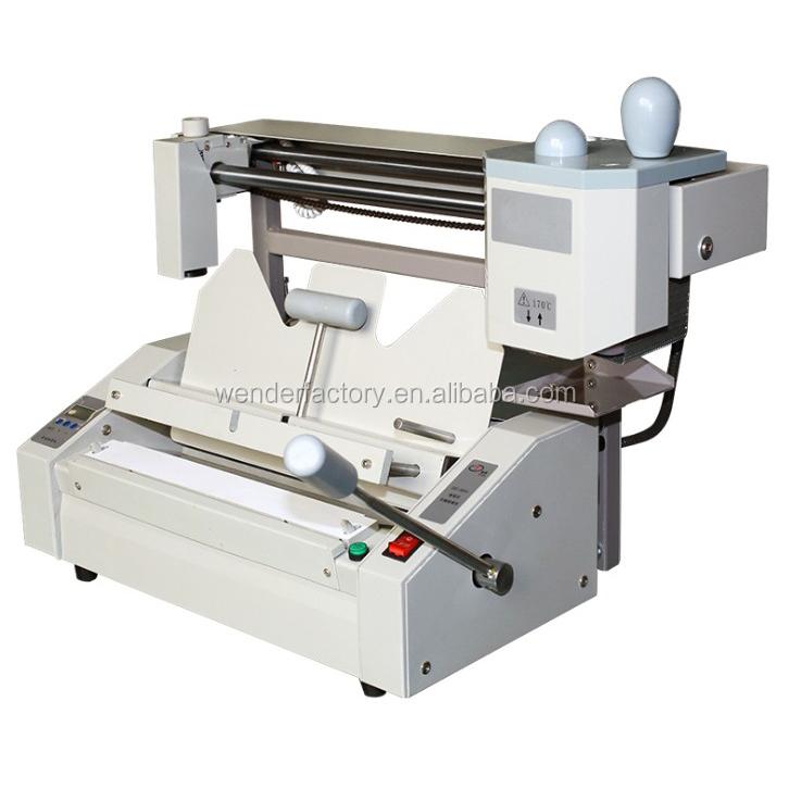 2017 novo livro de produção vinculativo máquina <span class=keywords><strong>equipamentos</strong></span> China fábrica máquina de fichário perfeito d60c-a4 book binding mac