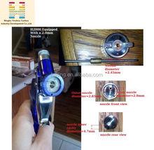 HVLP Mini Air H2000 Conventional Manual Spray Texture Gun