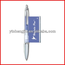 Paper inside printed professional retractable cheap banner pen