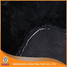 Top quality lamb skin for floor mat