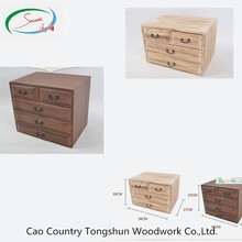 Popular custom fancy wooden gift jewelry box for sale