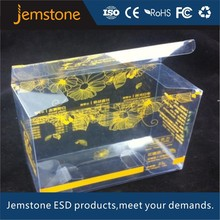 wholesale plastic packing chinese tea in yellow box